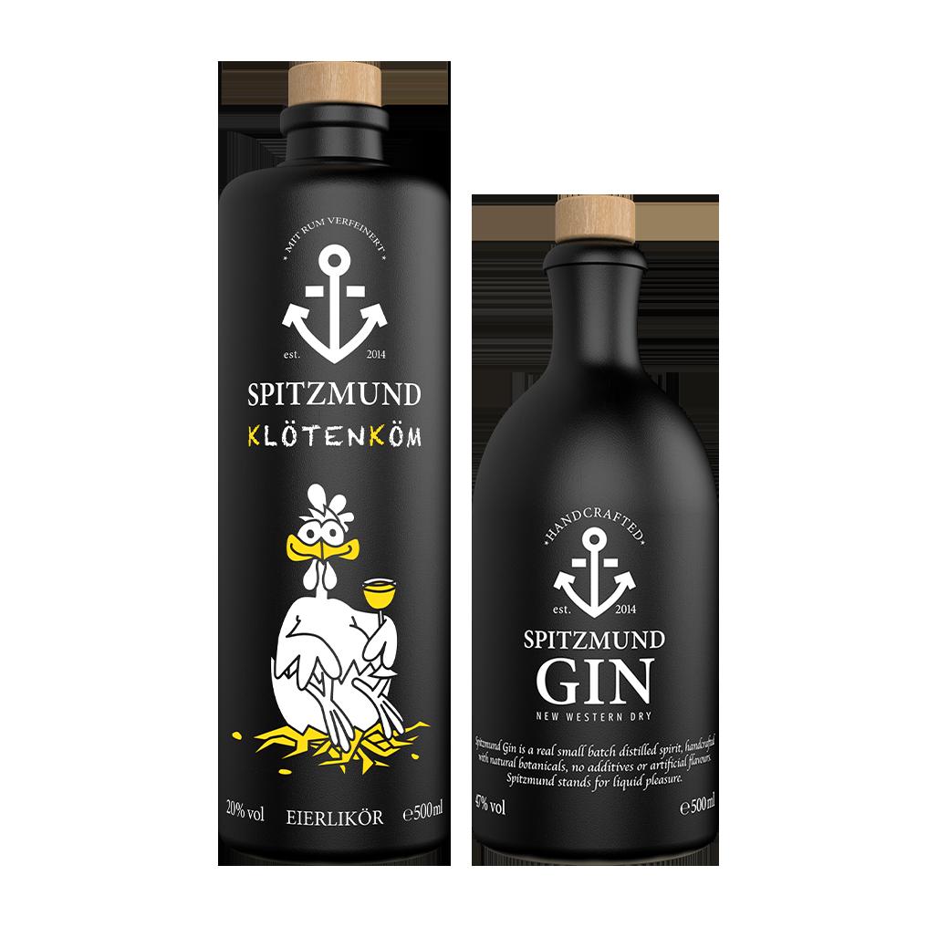 Klötenköm + New Western Dry Gin